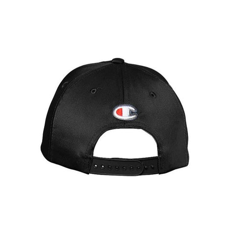 CHAMPION C LOGO BLACK CAP