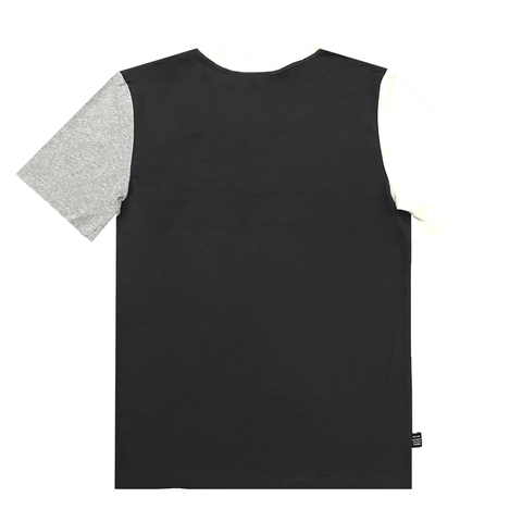 CHAMPION MEN'S FOR THE TEAM MULTI SLEEVE GREY/BLACK TEE