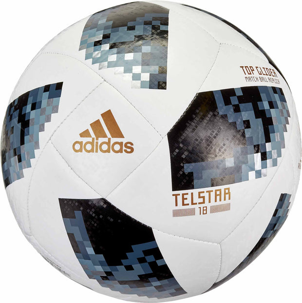 ADIDAS SOCCER FIFA WORLD CUP TOP WHITE GLIDER BALL - INSPORT