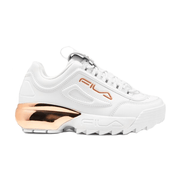 FILA WOMEN'S DISRUPTOR 2A ROSE GOLD CHROME SHOES
