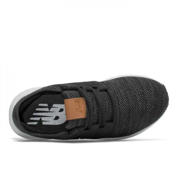 NEW BALANCE JUNIOR FRESH FOAM CRUZ KNIT BLACK SHOES