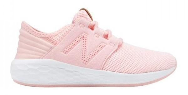 NEW BALANCE JUNIOR FRESH FOAM CRUZ KNIT PINK SHOES