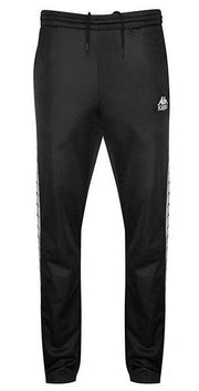 KAPPA WOMEN'S AUTHENTIC BLACK SNAP PANTS