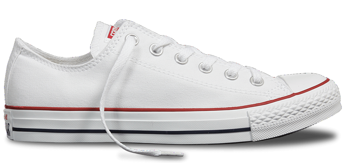 CONVERSE CHUCK TAYLOR ALL STAR LOW TOP WHITE UNISEX SHOE