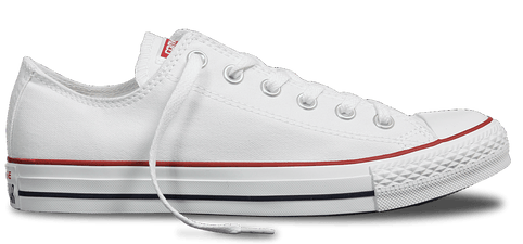 CONVERSE CHUCK TAYLOR ALL STAR LOW TOP WHITE UNISEX SHOE - INSPORT