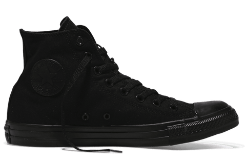 CONVERSE CHUCK TAYLOR ALL STAR HIGH TOP MONOCHROME BLACK - INSPORT