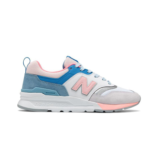 NEW BALANCE WOMEN'S 997H WHITE BLUE SNEAKERS