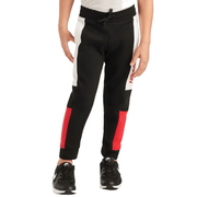 NIKE TODDLER'S AIR BLACK/RED TRACKPANTS (4-7)