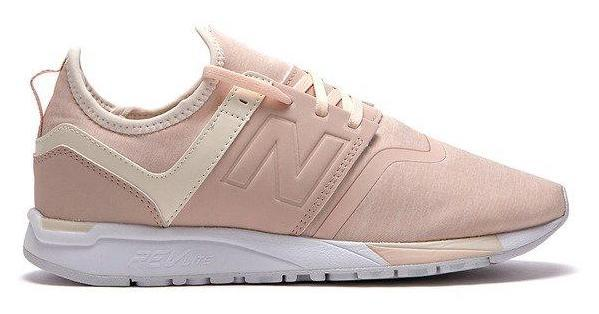 NEW BALANCE WOMEN'S 247 PINK SNEAKERS