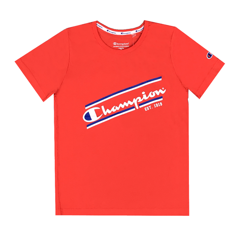 CHAMPION JUNIOR SPORTY RED TEE