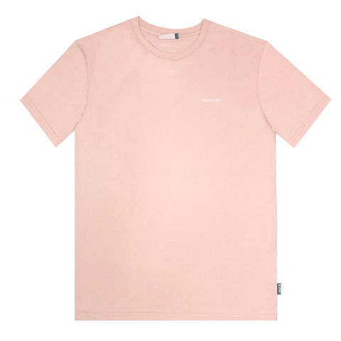 INSPORT WOMEN'S OVERSIZED BASIC ROSE PINK TEE