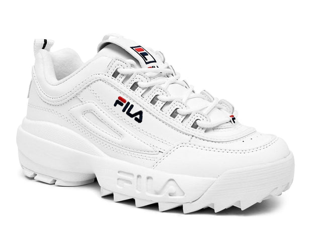 FILA MEN'S DISRUPTOR II WHITE SNEAKERS