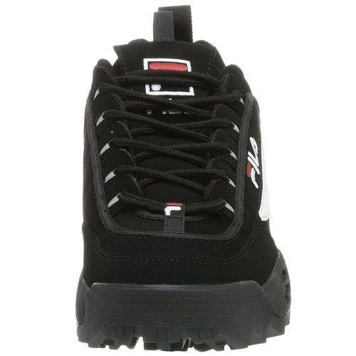 FILA MEN'S DISRUPTOR II BLACK SNEAKERS