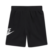 NIKE TODDLER'S CLUB SPORTSWEAR BLACK SHORTS