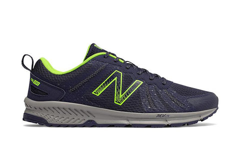 NEW BALANCE MEN'S 590V4 RUNNING TRAIL BLACK/GREY SHOES