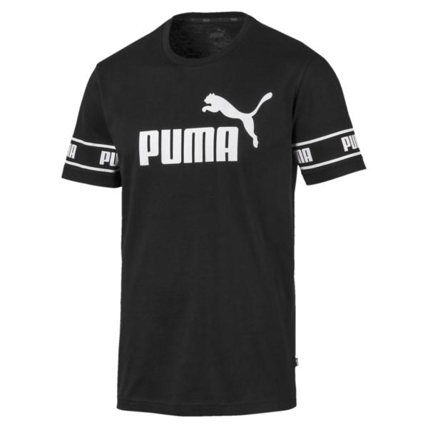 PUMA MEN'S AMPLIFIED BLACK TEE