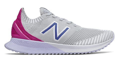 NEW BALANCE WOMEN'S FUELCELL ECHO WHITE PINK RUNNING SHOES