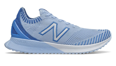 NEW BALANCE WOMEN'S FUELCELL ECHO FROST BLUE WITH COBALT BLUE RUNNING SHOES