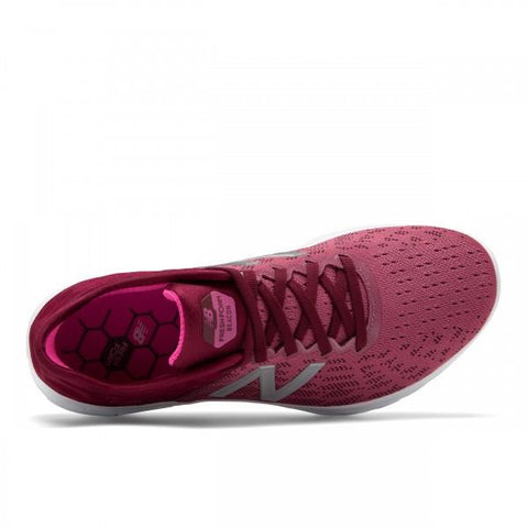 NEW BALANCE WOMEN'S FRESH FOAM BEACON V2 RED PINK RUNNING SHOES