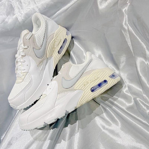NIKE WOMEN'S AIR MAX EXCEE WHITE IVORY SHOES