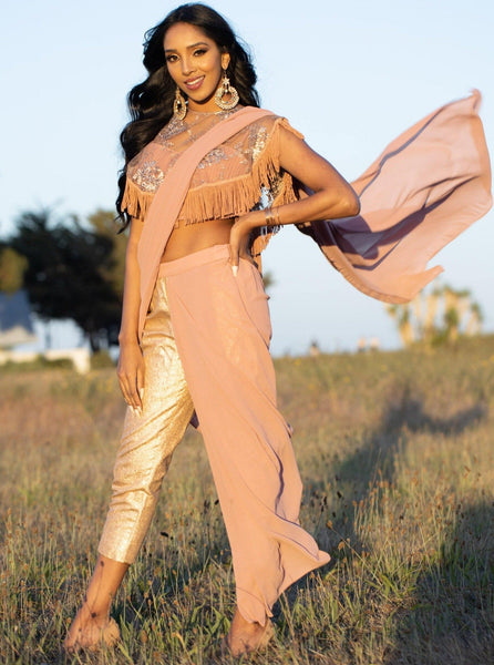 Pant saree - out of box Indian fashion