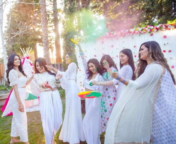 Holi White Outfit ideas