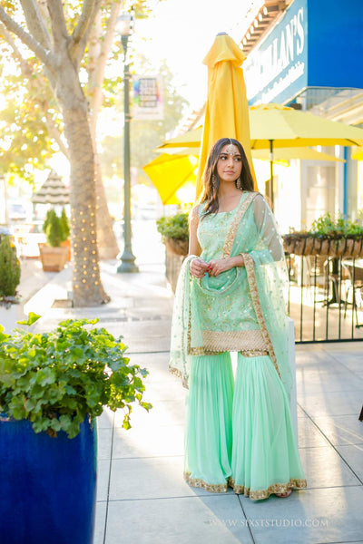 Sharara for inverted triangle