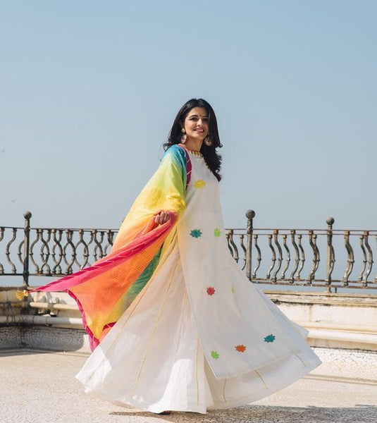 Colorful Dupatta for Holi