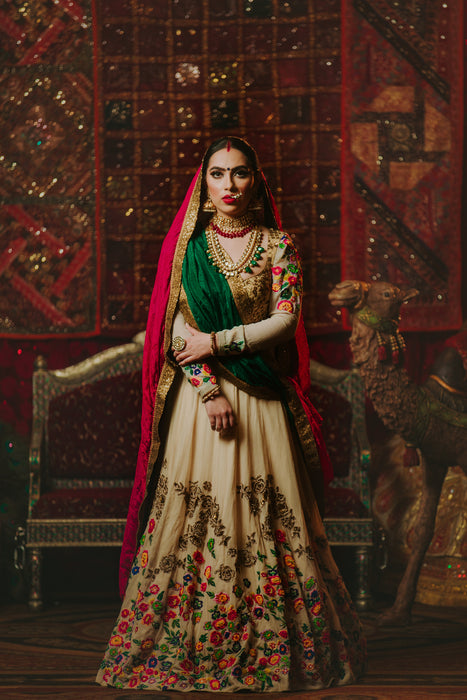 Zarin Bridal Lehenga - Indian Bridal Wear - bAnuDesigns