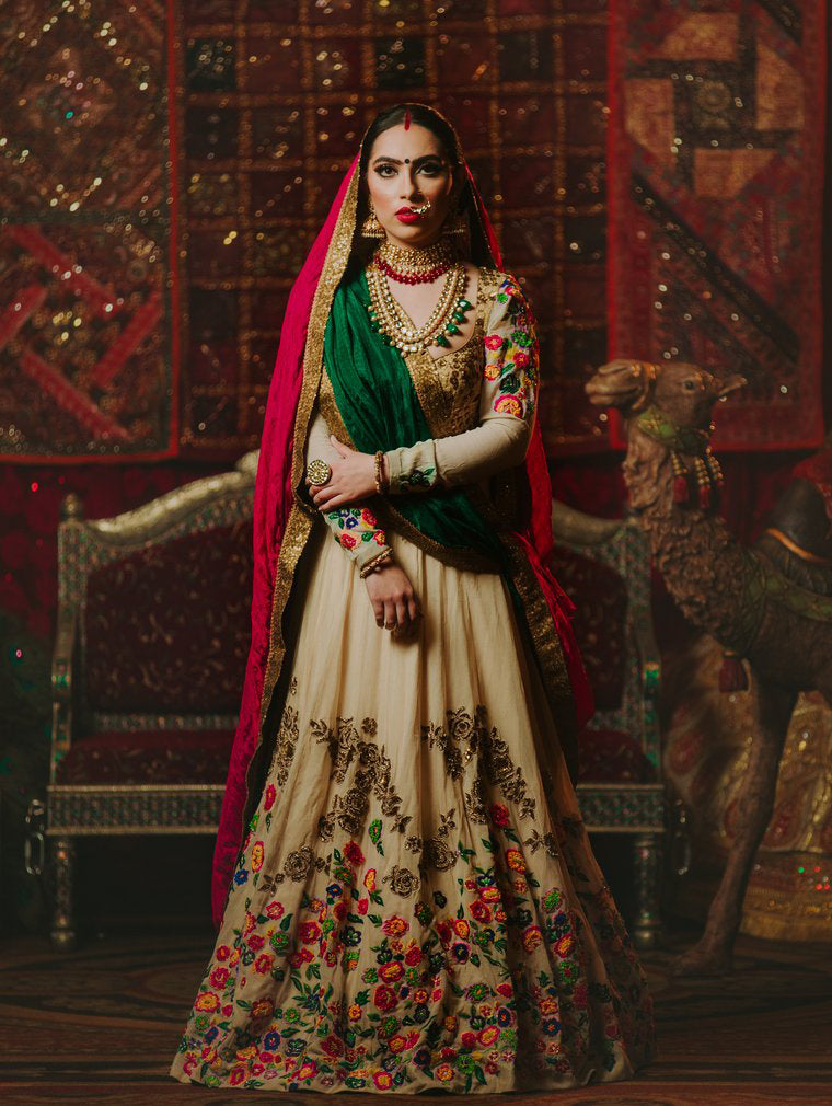 Zarin Bridal Lehenga - Indian Bridal Wear