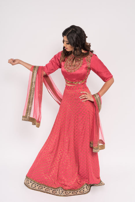 Raina Lengha - bAnuDesigns