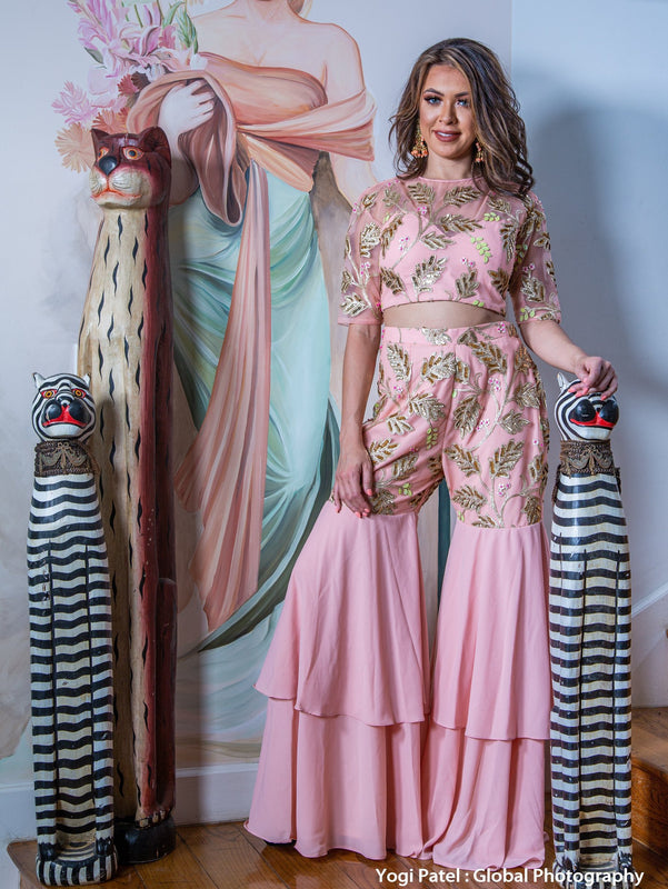 Ayesha Pallazo Set - bAnuDesigns