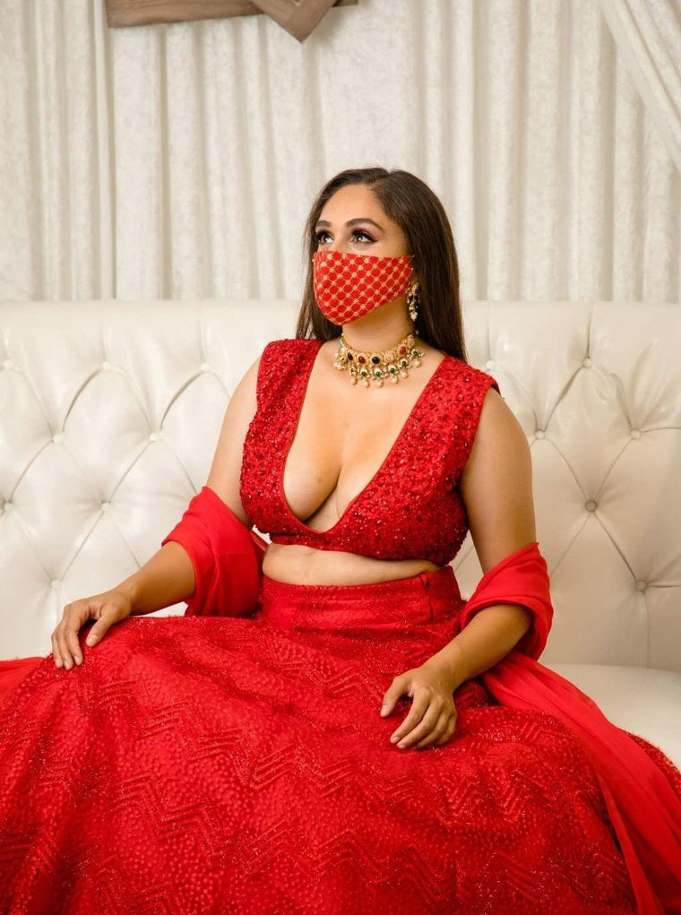 Cherry Lengha - bAnuDesigns