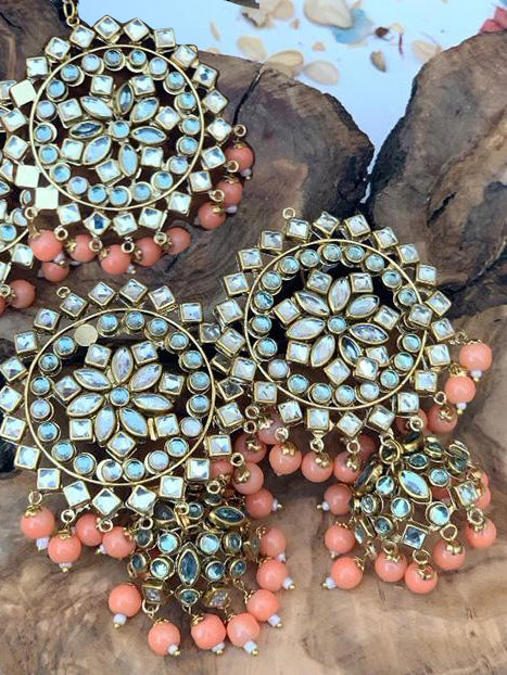 Reef Tikka Set - Coral - bAnuDesigns