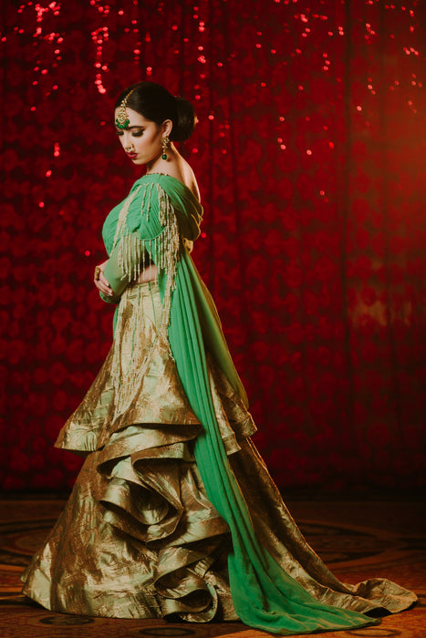Sadia Bridal Lehenga - Indian Bridal Wear - bAnuDesigns