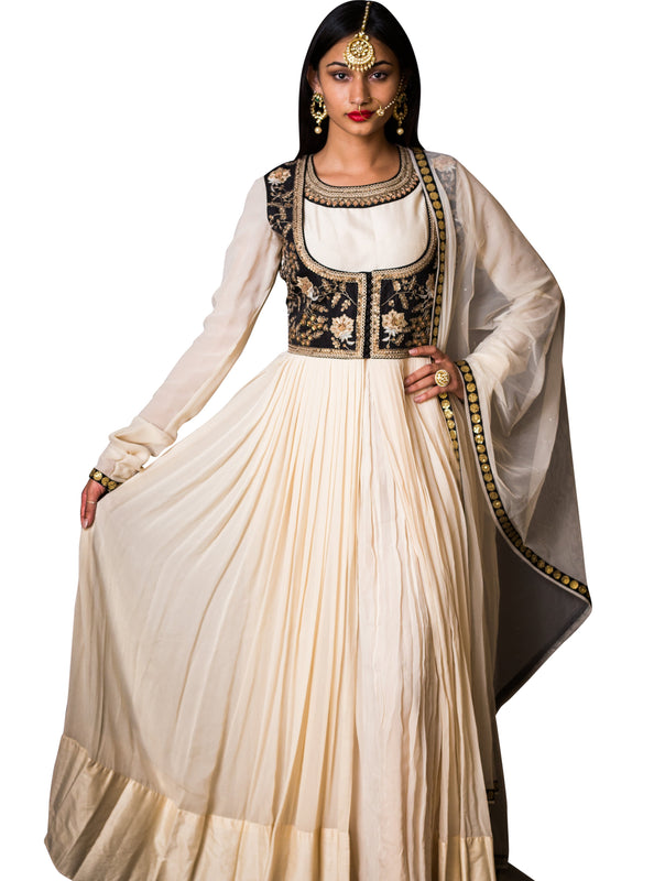 Anarkali w/Jacket - Zohra - bAnuDesigns