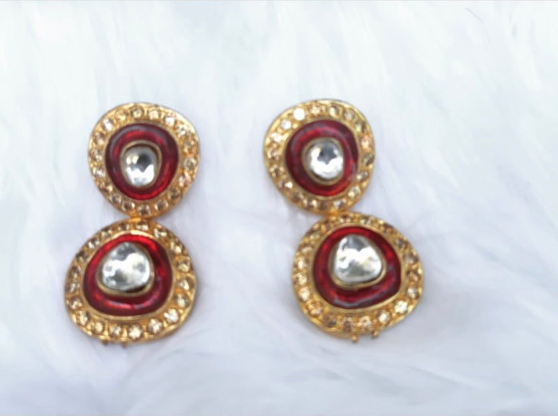 Noor Ruby Pearl Set