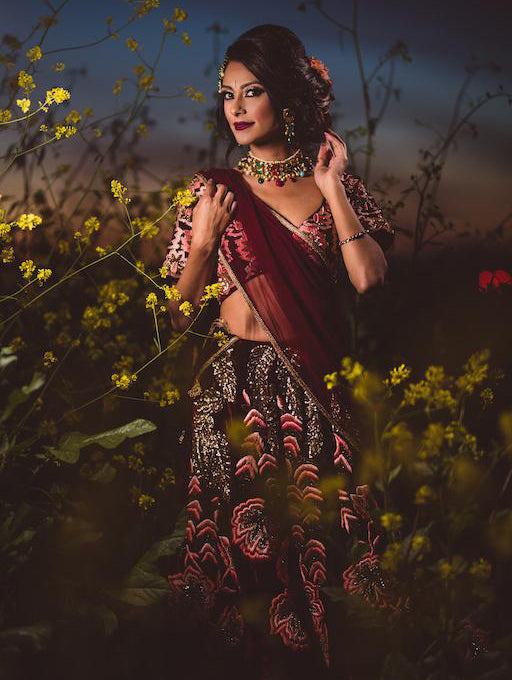 Azalia Bridal Lehenga - Indian Bridal Wear