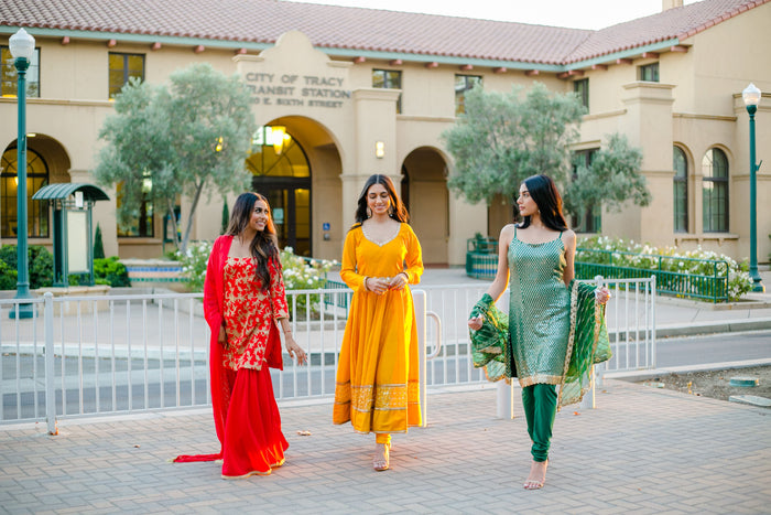 indian bridesmaid wear