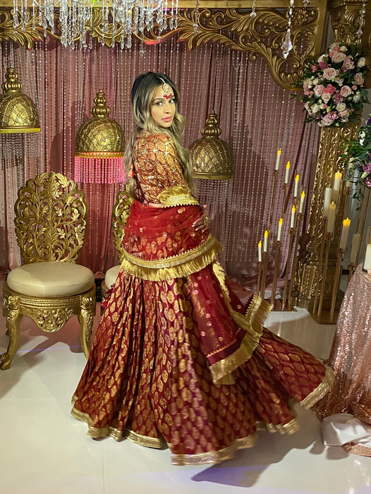 Adya Bridal Lehenga - Indian Bridal Wear