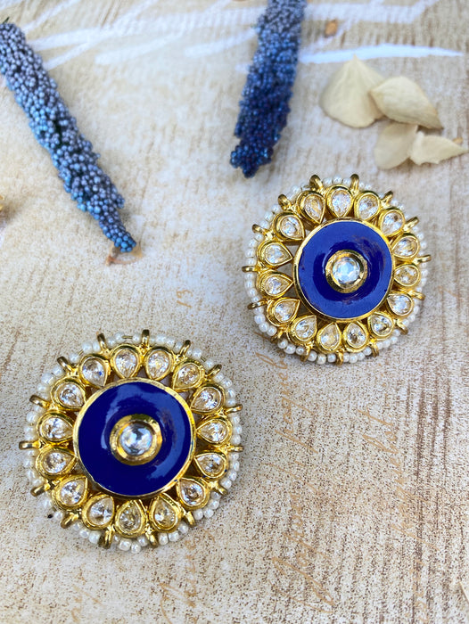 Amaris Stud Earrings - bAnuDesigns