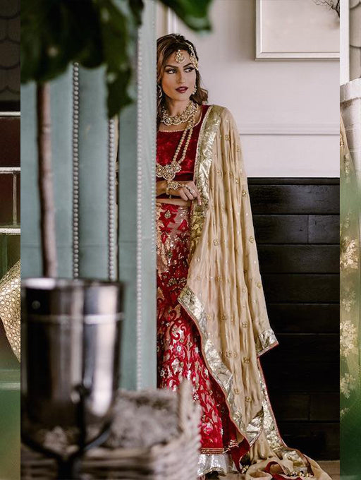 Kiara Bridal Lehenga - Indian Bridal Wear