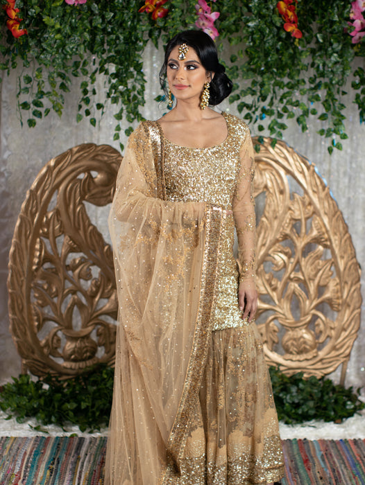 Amia Bridal Sharara - Indian Bridal Wear - bAnuDesigns