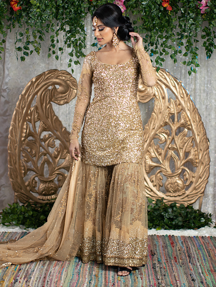 Amia Bridal Sharara - Indian Bridal Wear