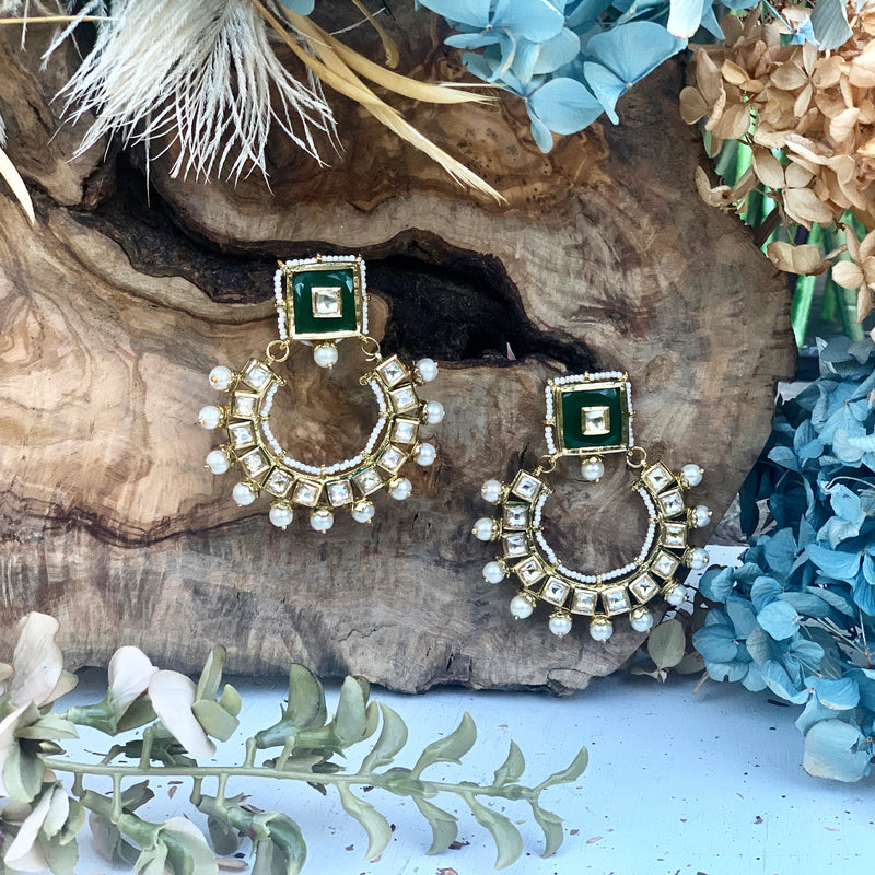 Arha Earrings - bAnuDesigns