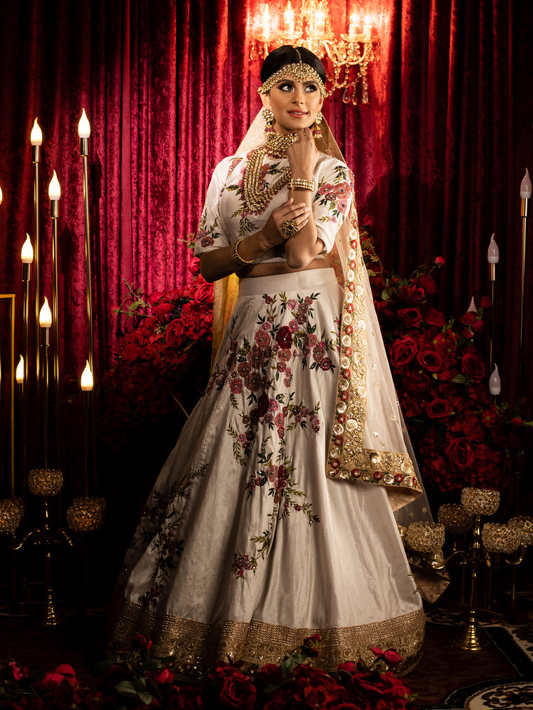 Ashini Bridal Lehenga - Indian bridal Wear