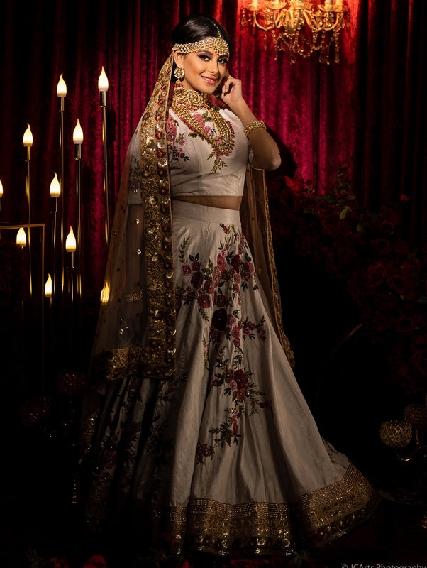 Ashini Bridal Lehenga - Indian bridal Wear - bAnuDesigns