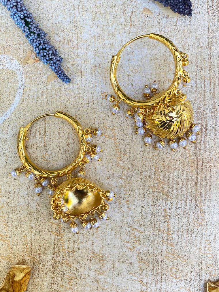 Avantika Hoop Earrings