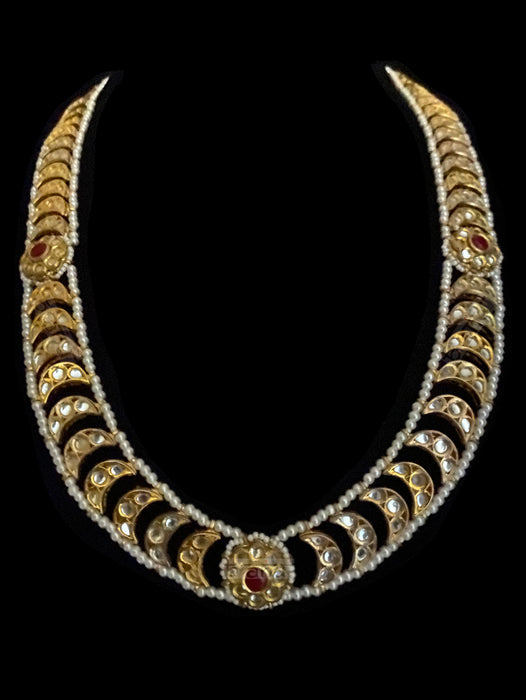 Bahaar Kundan, Ruby & Pearl Necklace