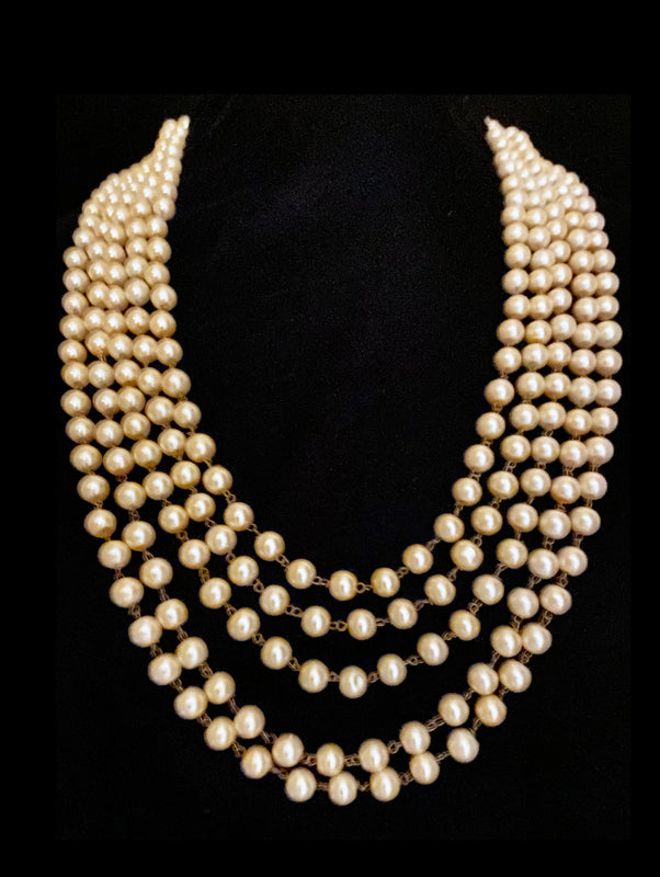 Pearl Statement Necklace - bAnuDesigns